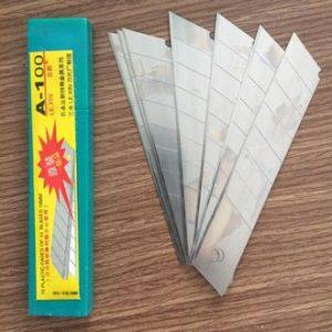 90. Lưỡi Dao Rọc Giấy Lớn 18×0.5mm A-100
