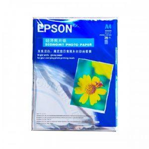 Giấy In Ảnh 1 Mặt Bóng Epson A4 180g 20 Tờ/ Xấp